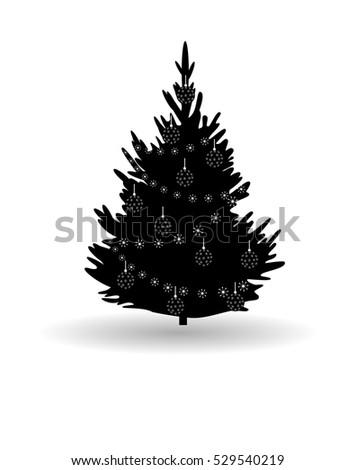 vector illustration  tree