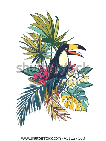vector illustration tropical