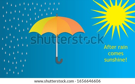 vector illustration  umbrella