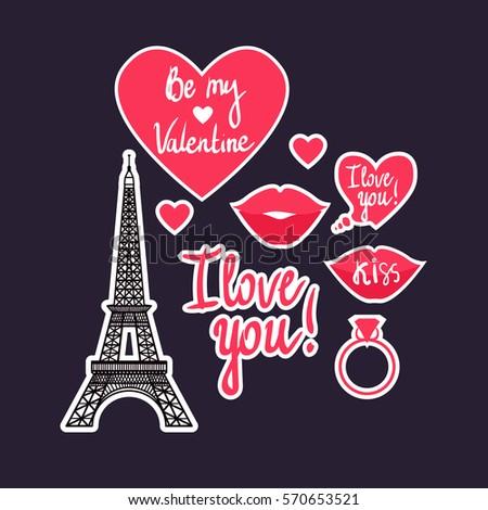 vector illustration valentine