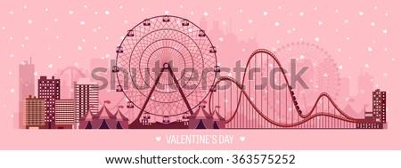 vector illustration valentines