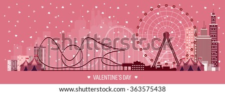 vector illustration valentines