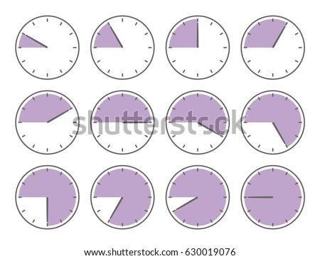 vector illustration violet