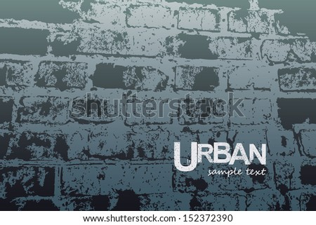 vector illustration wall  stone