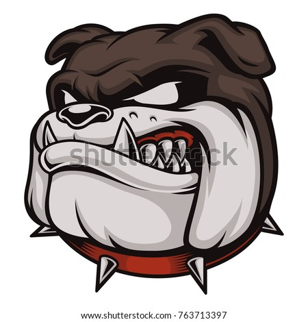 vector illustration with angry
