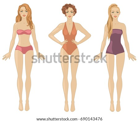 vector illustration with three