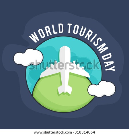 Vector illustration World Tourism day.