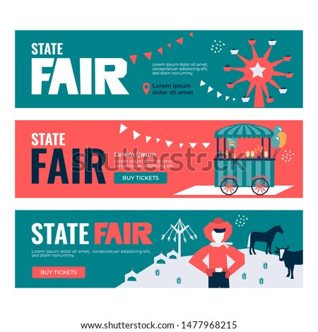 vector illustrations of state