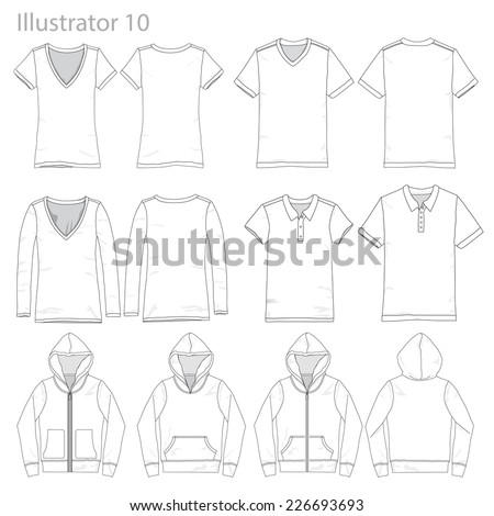 vector illustrations of various