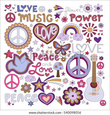 vector illustrations on a peace