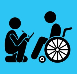 vector image communication with the disabled