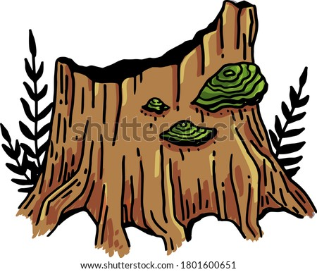 vector image of a tinder tree