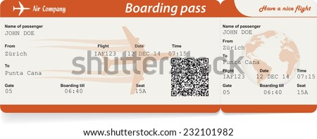 Editable Plane Ticket Template April Calendar – Airline Ticket Template Free
