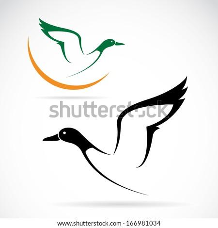 Goose Hunting Logos Stock Vector Goose Hunting
