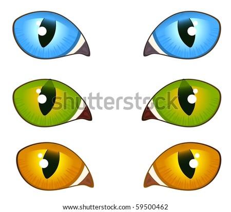 black cat eyes. cat eyes girlfriend. lack cat