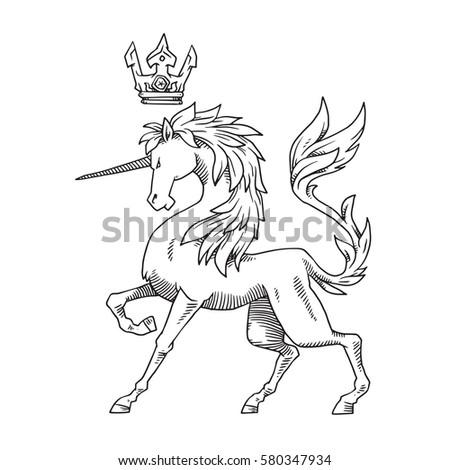 vector image of heraldic