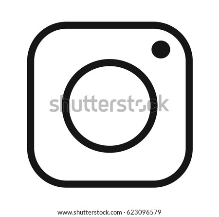 Vector image of icon photo camera