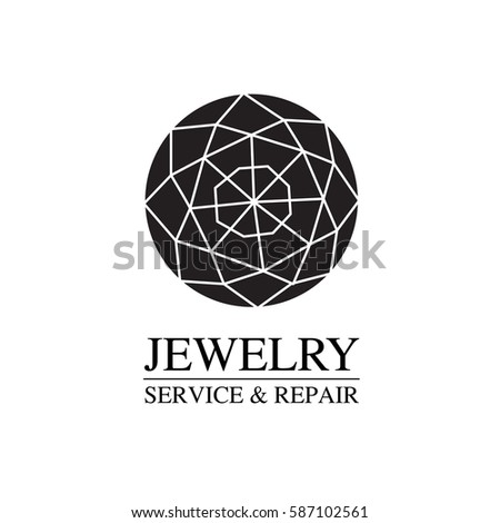 vector image of logo jewelry