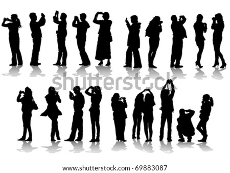 vector image of people