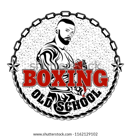 Old School Boxing Free Vector Art - (28 Free Downloads)