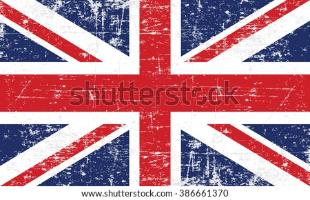 vector image of the british