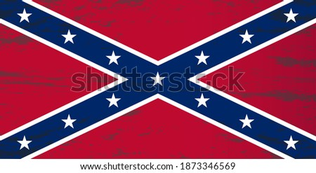 vector image of the flag of the Confederate States of America Сток-фото ©