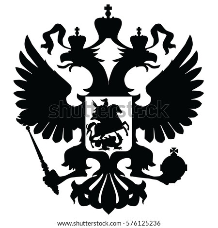 vector image the emblem of the Russian Federation (Russia)