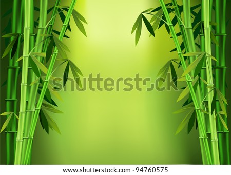 vector images of stalks of