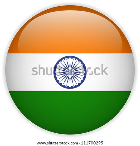 stock-vector-vector-india-flag-glossy-button