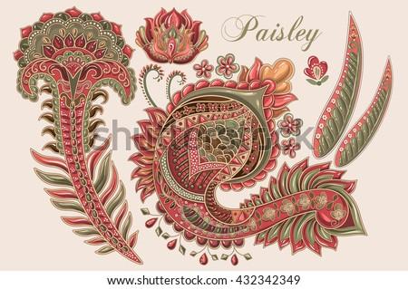 Mehndi Patterns Vector : Vector paisley designs download free art stock graphics