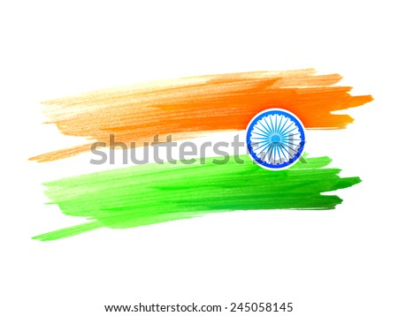stock-vector-vector-indian-flag-design-made-with-color-strokes-on-a-white-background