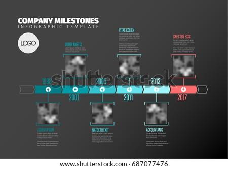 vector infographic company