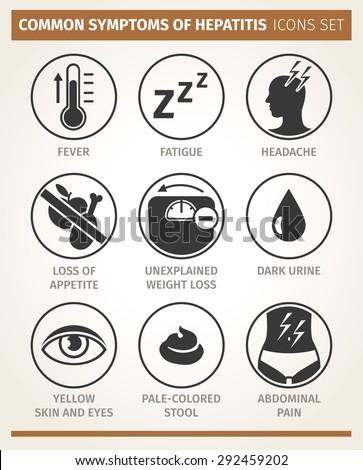 vector  infographic symptoms