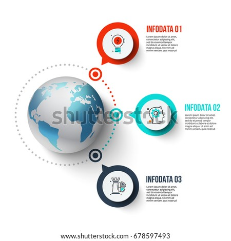 vector infographics global