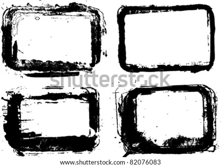 vector ink frames set