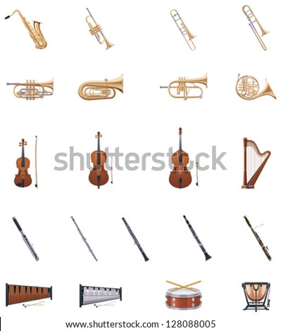 Vector Instruments of the Orchestra