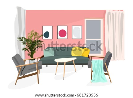 Midcentury Chair Vectors - Download Free Vector Art, Stock Graphics ...