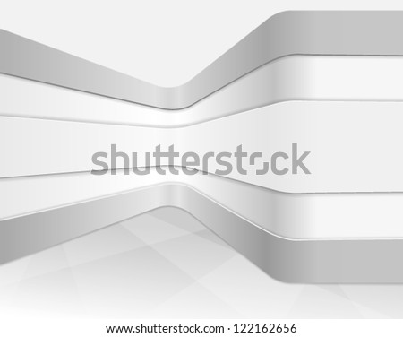 Vector interior wall, abstract architectural background