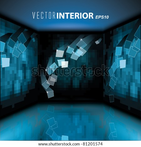 Vector Interior with Picture on the wall