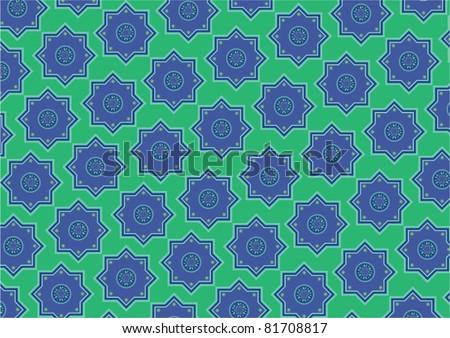 Vector Islamic Wallpaper Design