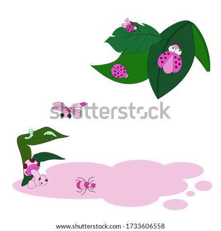 vector isolate concept cartoons