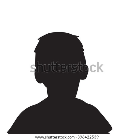 vector   isolated  boy