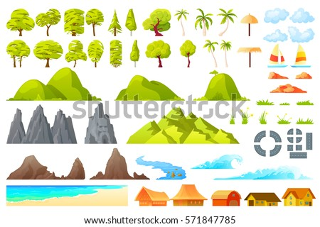 vector  isolated cartoon