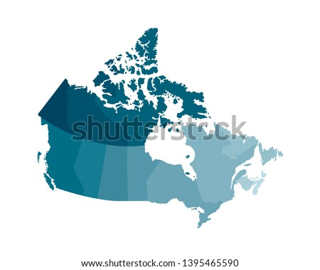Map Of Regions Of Canada.Canada Map Vector Download Free Vector Art Stock Graphics Images