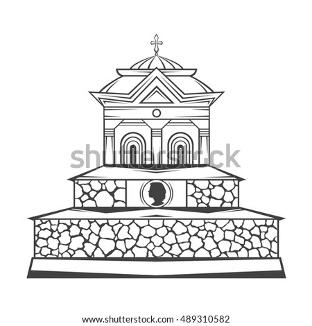vector isolated image of