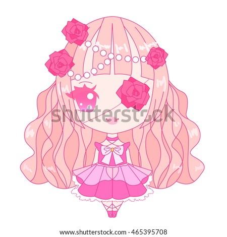 vector isolated pink decorative