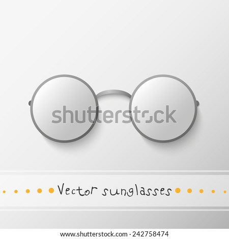 vector isolated round