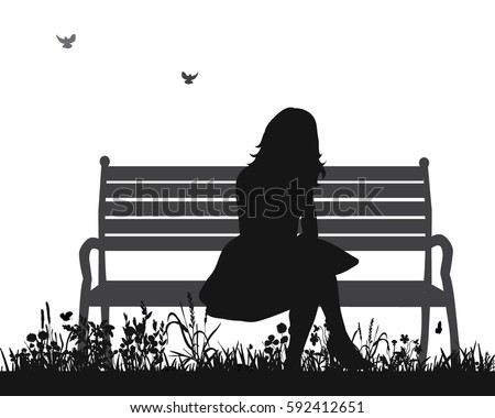 vector isolated silhouette of a