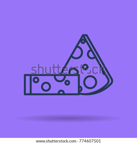 vector isolated thin line icon