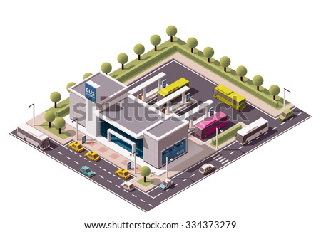 vector isometric icon or